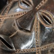 African Tribal Mask - Zande Tribe — Stockfoto