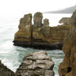 Foto Stock: Pancake Rocks, New Zealand
