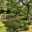 Japanese Garden - Ginkakuji Temple, Kyoto, Japan — Stock Photo #12818267