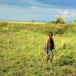 Meadow at Lake Anapa - Uganda, Africa — Stock Photo