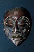 African Tribal Mask - Bakoba Tribe — Stock Photo