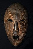 Máscara tribal africana - tribo lega — Foto Stock
