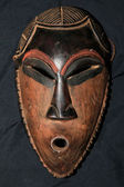 African Tribal Mask - Pende Tribe — Stock Photo