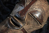 African Tribal Mask - Songe Tribe — 图库照片