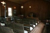 教会の礼拝堂、北海道開拓の村、日本 — ストック写真