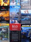 Tour info - Aukland, New Zealand — Stock Photo