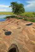Lake Landscape - Lake Anapa - Uganda, Africa — Stock Photo