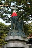 Dog Guardian - Fushimi Inari, Kyoto, Japan — Stock Photo