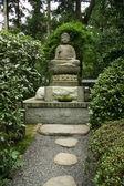 Buddha statue - Ryoan Ji, Kyoto, Japan — Stock Photo