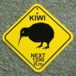 Kiwi Sign, New Zealand — Stock Photo