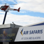 Air Safari, New Zealand — Stock Photo