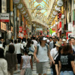 Busy Shopping Arcade - Tokyo City, Japan — Stock Photo