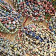 Paperbead Necklaces - Uganda — Stock Photo