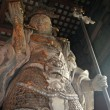 Warrior - Todaiji Ancient Temple, Nara, Japan — Stock Photo