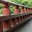Wooden Bridge - Zojoji Shrine,Tokyo, Japan — Stock Photo