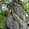 God Statue - Zojoji Shrine,Tokyo, Japan — Stock Photo