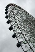 Ferris Wheel - Osaka City in Japan, Asia — Stock Photo