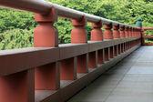 Wooden Bridge - Zojoji Shrine,Tokyo, Japan — Stock Photo