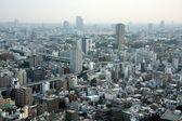 Paesaggio urbano, la città capitale di tokyo, giappone — Foto Stock