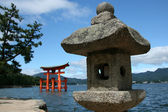 Miyajima Gate - Itsukushima Shrine, Miyajima, Japan — Stock Photo