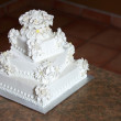 Luxury Wedding Cake - Stock Photo