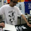 T-Shirt Printing - City of Naha, Okinawa, Japan - Stock Photo