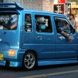 Modified Minivan - City of Naha, Okinawa, Japan — Stock Photo