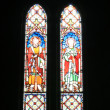 Stained Glass Window - Old St Paul's, Wellington, New Zealand - Stok fotoğraf