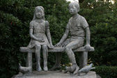 Children Statue - Peace Park, Nagasaki, Japan — Foto Stock