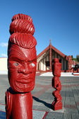 Maori Carving - Maori Culture in New Zealand — Stock Photo