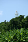 Lighthouse - Iriomote Jima Island, Okinawa, Japan — Stock Photo