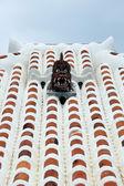 Rooftop Guardian Statue - Taketomi Island , Okinawa, Japan — Stock Photo