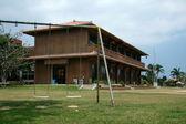 学校 - 竹富島、沖縄、日本 — ストック写真