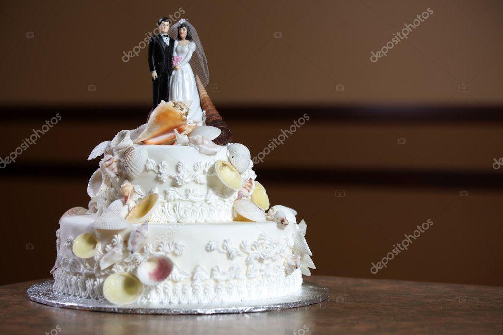 Gâteau de mariage de luxe — Photographie imagex © #12871274