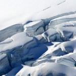 山上覆盖着雪-南阿尔卑斯山,新西兰 — 图库照片