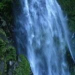 Waterfall - Milford Sound, Te Wahipounamu, New Zealand — Stock Photo