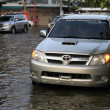 BANGKOK, THAILAND - NOVEMBER 17 : Flooding in Bangkok, Thailand - Stock Photo