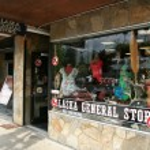 Souvenir shop — Stock Photo
