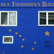 Stock Photo: FishermHouse Alaska