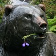 Bear sculpture — Stock Photo