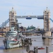Tower Bridge - London - UK - Stock Photo