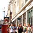 Picadilly - London - UK — Stock Photo