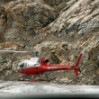 Helicopter Flight at Mendenhall Glacier, Alaska, USA — Stock Photo