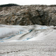 Stock Photo: Mendenhall Glacier, Alaska, USA