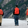 Ice Hiking - Mendenhall Glacier, Alaska, USA — Stock Photo