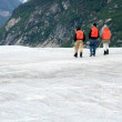 Ice Hiking - Mendenhall Glacier, Alaska, USA — Foto Stock