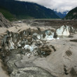Mendenhall Glacier, Alaska, USA — Stock Photo