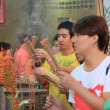 BANGKOK, - JANUARY 23 : Chinese New Year 2012 - Celebrations in - Stok fotoğraf
