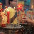 Foto de Stock  : BANGKOK, - JANUARY 23 : Chinese New Year 2012 - Celebrations in
