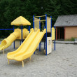 Children slide. Skagway, Alaska, USA — Stock Photo #12899690